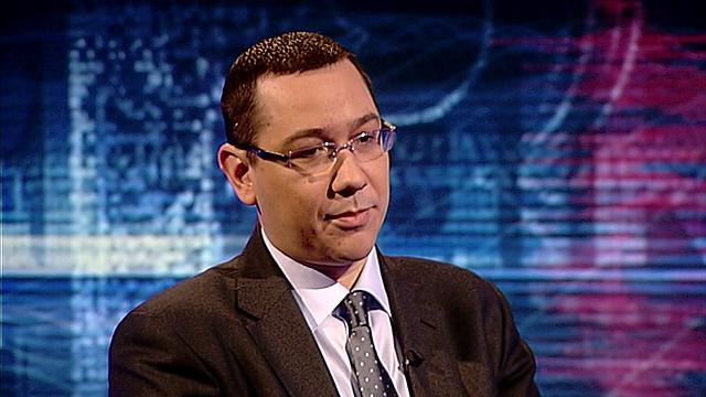 Romania's Prime Minister, Victor Ponta
