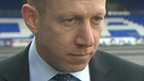 Oldham Athletic chairman Simon Corney