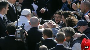 Pope Francis, 18 March