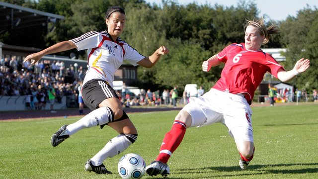 Women's football is increasing in popularity