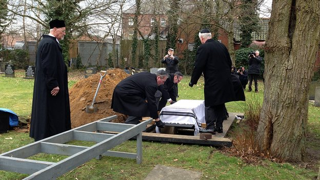 Burial of Jewish remains in Norwich cemetery