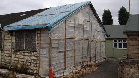 Hut 6 exterior 2013