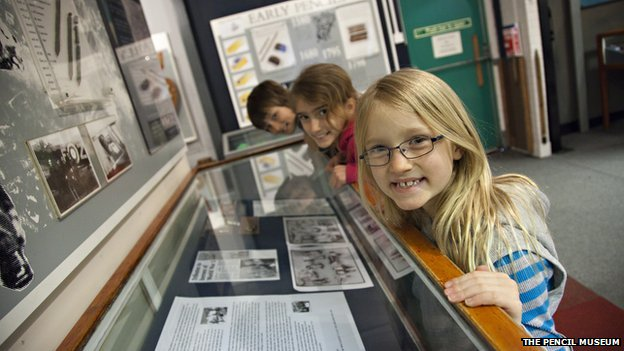 Children enjoying the Pencil Museum