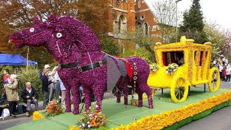 Spalding Flower Parade
