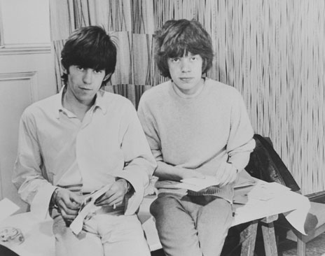 Keith Richards and Mick Jagger answer fan mail in 1963