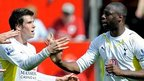 Gareth Bale and Ledley King