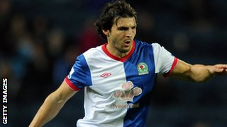 Former Blackburn Rovers midfielder Simon Vukcevic