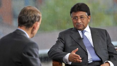 BBC News - Profile: Pervez Musharraf