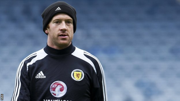 Scotland international Charlie Adam
