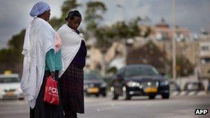 Ethiopian Jews in Netanya