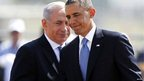 US President Barack Obama and Israeli Prime Minister Benjamin Netanyahu, Tel Aviv, 20 March 2013