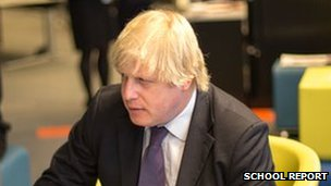 Johnson affirms that PM is his ambition