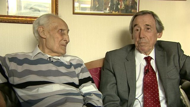 Bert Williams and Gordon Banks
