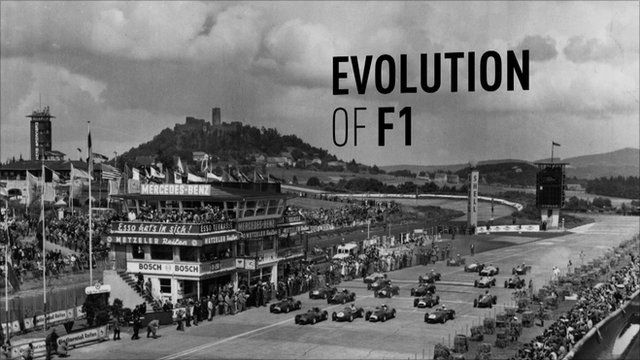 Evolution of Formula 1