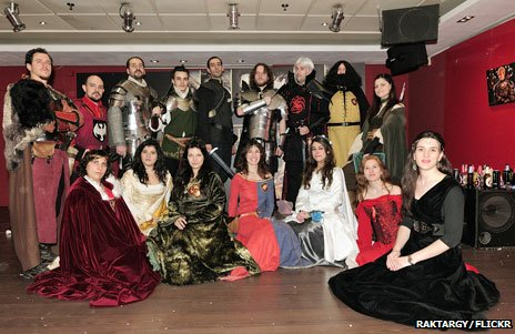 Game of Thrones at a Madrid convention
