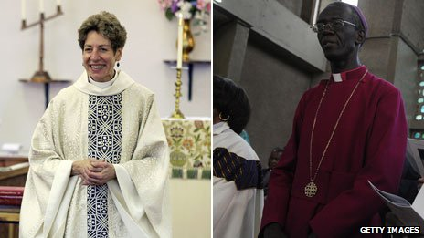 Katharine Jefferts Schori and Eliud Wabukala