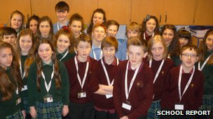 Pupils from Cardinal Newman Catholic School