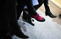 shoes worn by delegates