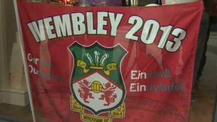 Wrexham flag