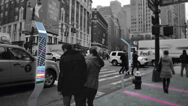 Smart Sidewalks prototype