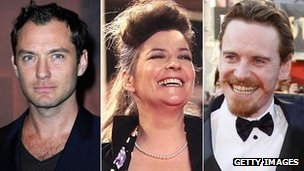 Jude Law, Lynne Ramsay and Michael Fassbender