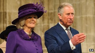 Prince of Wales and the Duchess of Cornwall