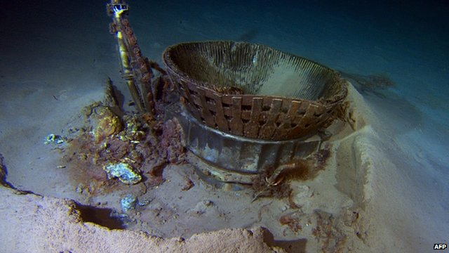 Bezos expedition retrieves Apollo rocket engines from the ocean