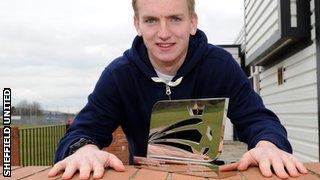 Sheffield United goalkeeper George Long