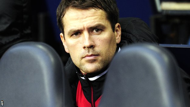 Michael Owen has spent too much time on the bench for his own liking this season