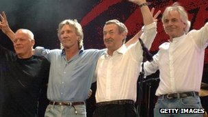 Pink Floyd reunite at Live 8 concert in July 2005