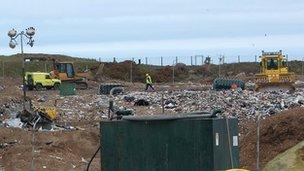 Mont Cuet landfill site