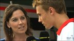 Lee McKenzie and Max Chilton