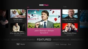 iPlayer screen grab