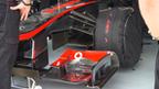 McLaren's front wing