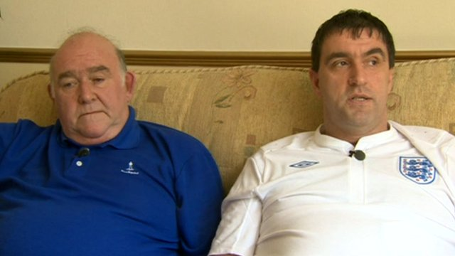 Stephen Seddon and father Bob