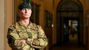 Lance Corporal Chris Morton has been awarded a Mention in Despatches