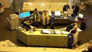 Didcot A control room