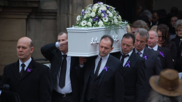 Christina Edkins funeral at Birmingham Cathedral