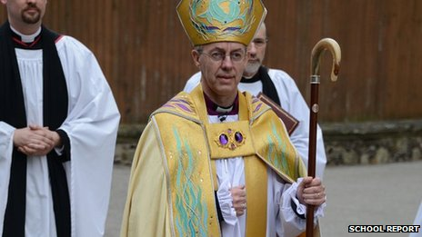 Archbishop Justin Wellby