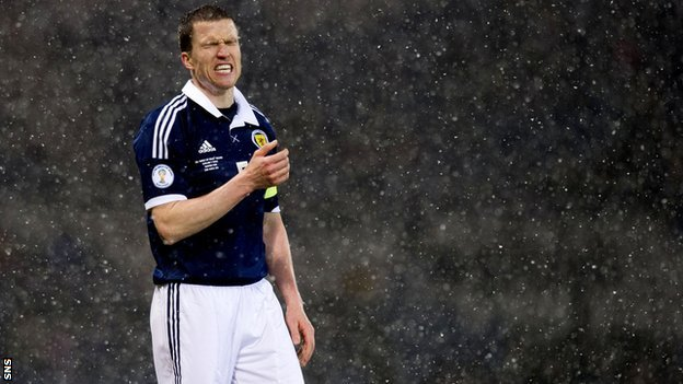 Scotland captain Gary Caldwell