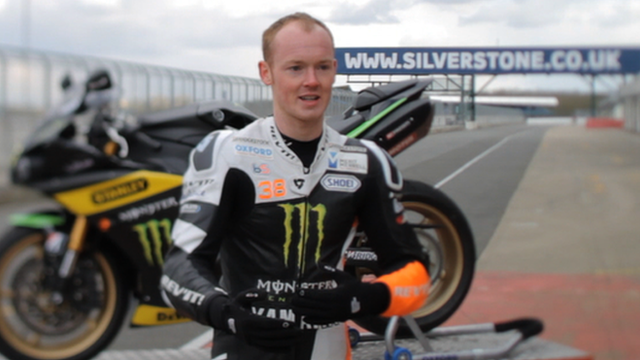 British MotoGP racer Bradley Smith