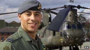Flt Lt Christopher Gordon