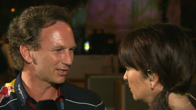Christian Horner and Suzi Perry