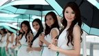 Malaysian Grand Prix grid girls