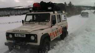 North West Mountain Rescue team