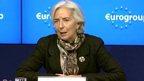 IMF chief Christine Lagarde