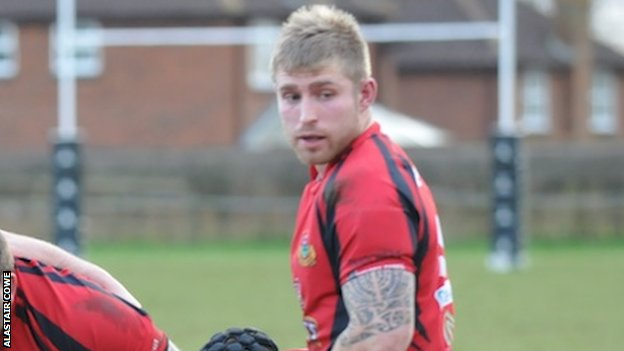 Greg Goodfellow scored Redruth's first try