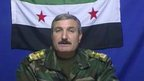 Blast wounds Syria rebel commander