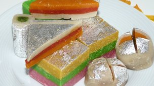 Indian sweets for Holi