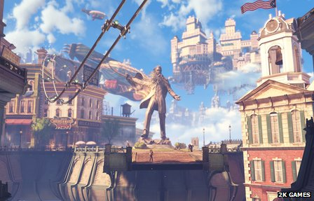 Screenshot from Bioshock Infinite